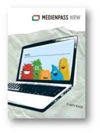 Der Medienpass NRW für die Klassen 5 und 6. (Medienpassdesign © Fritjof Wild, serviervorschlag.de)