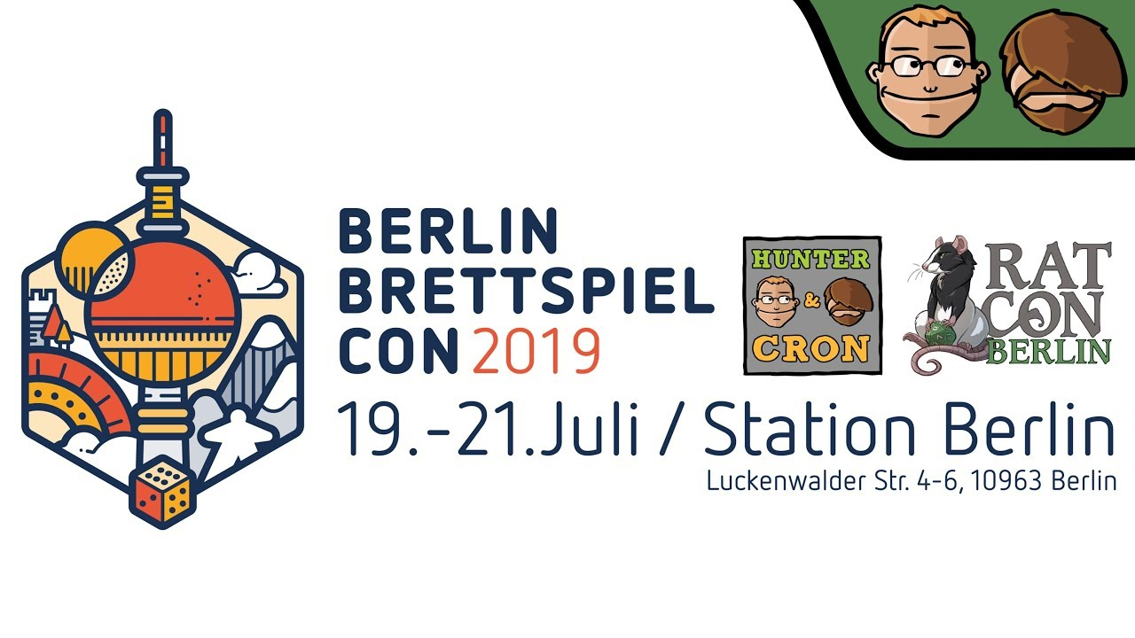 A glimpse of Berlin Brettspiel Con 2019 [News]