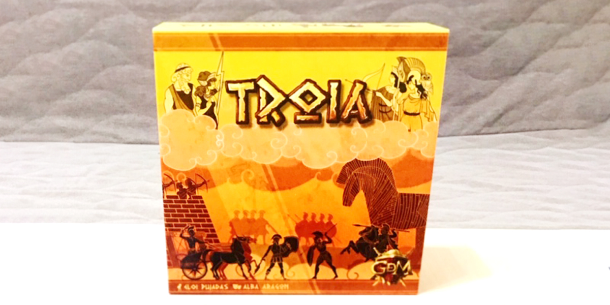 Troia: Asymmetric Greeks' and Trojans' war [Review]