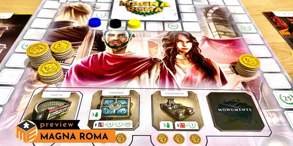 Magna Roma: Building your next Roman city [Preview]