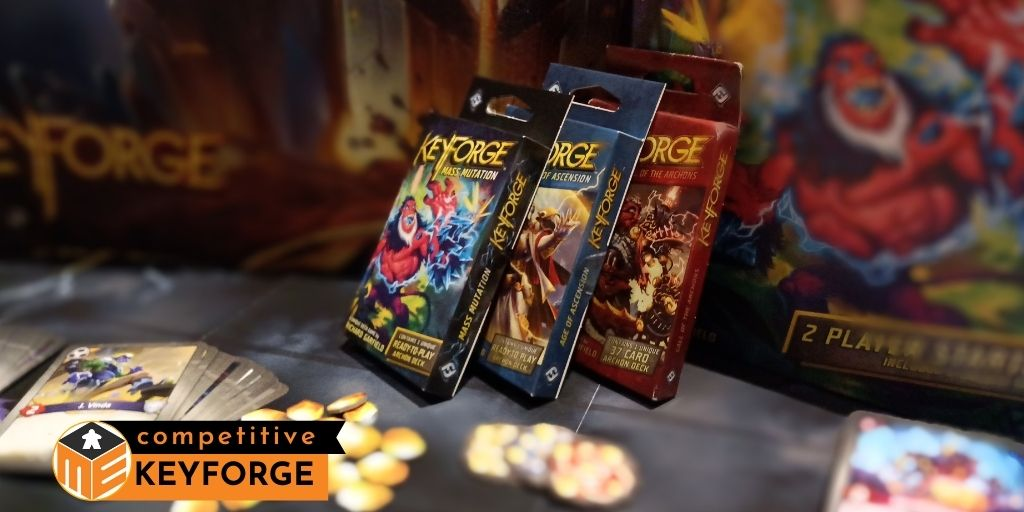 Dark Tidings preview, the latest Keyforge set