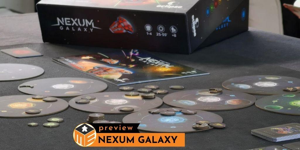 NEXUM Galaxy: The galaxy's veni, vidi, vici [Preview]