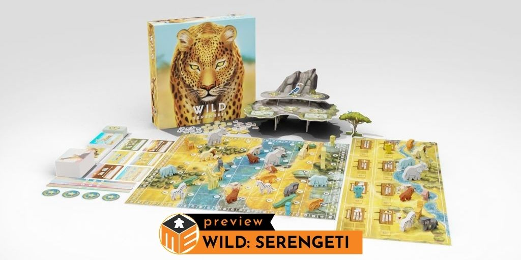 Wild: Serengeti, a wildlife documentary game [Preview]