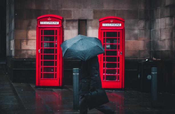 Cabines téléphoniques anglaises