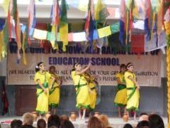 Aufführung in der Snowland Ranag School_1