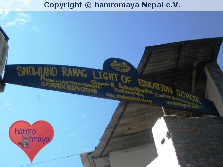 Hilfsprojekte für Nepal: Snowland Absolventen 2013