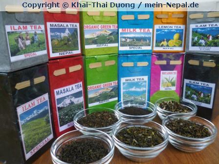"""Tee aus Nepal im Onlineshop """"mein-Nepal.de"""""""