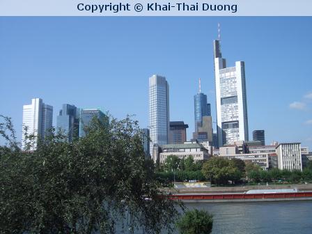 Kleine Frankfurt-Tour für einen Gast aus Nepal
