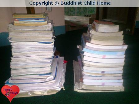 Neue Schulbücher für Buddhist Child Home