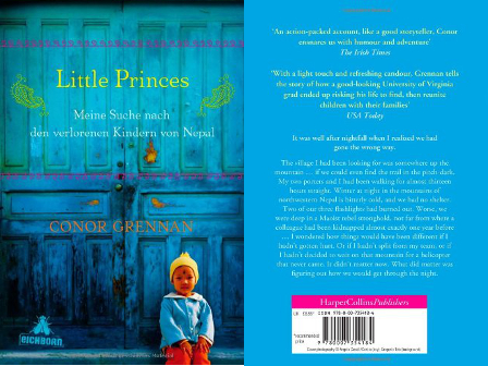 "Nepal Buch-Empfehlung: ""Little Princes"""