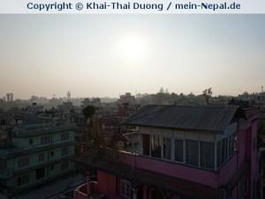 Ein letztes Foto über den Dächern von Kathmandu. (Foto: Khai-Thai Duong)