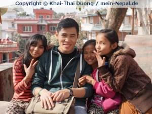 Ich empfinde Freude, weil für andere da sein kann! (Foto: Khai-Thai Duong)