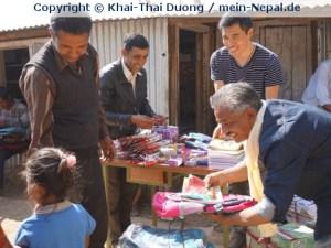 Ich bin glücklicher in Nepal, weil ich dort etwas bewirke! (Foto: Khai-Thai Duong)