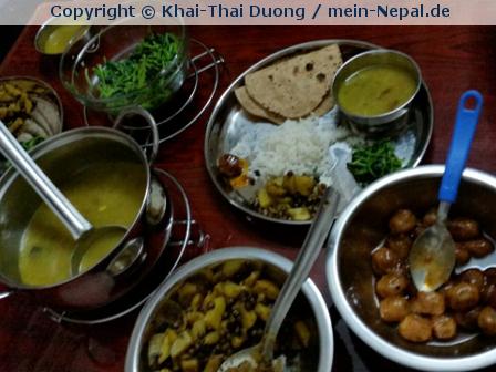 Nepal XI – Tag 3 – Nimmersatt