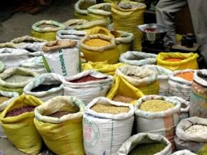 Gewürzmarkt in Nepal