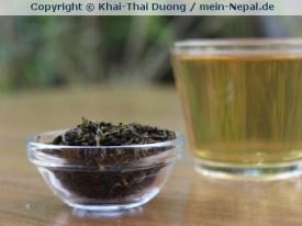 Second Flush Grüner Tee aus Ilam