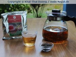 Höchsten Tee-Genuss gibt es auch im mein-Nepal Shop