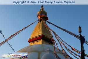 Die Legende um Boudhanath Stupa nach Newar Mythologie.