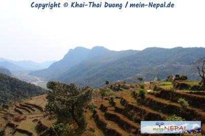Schöne Aussichten gibt es auch ohne Himalaya im Hintergrund.