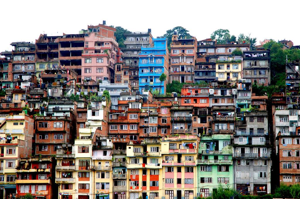 Nepal ist Farbe.