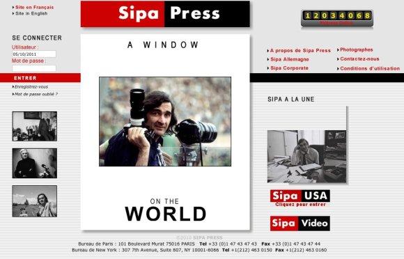 Sipa home page
