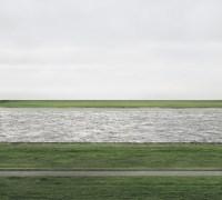 "Andreas Gursky's photgraph called ""Rhein II"