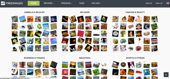 Freeimages.com, the Getty powered free stock photo website