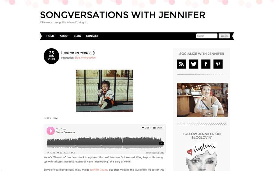 JenniferChung-Songversations