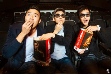 Phil Wang, Ted Fu, and Wes Chan (Wong Fu Productions) by Melly Lee (mellylee.com)