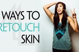 5 Ways To Retouch Skin on Photoshop