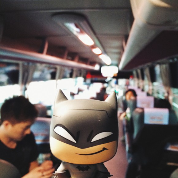 Batman in Seoul by Melly Lee (mellylee.com)