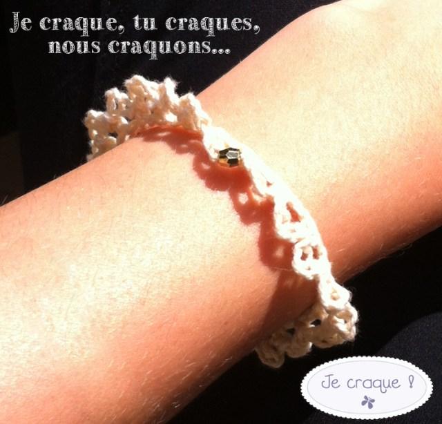 Bracelet en Dentelle Mely Marmelade