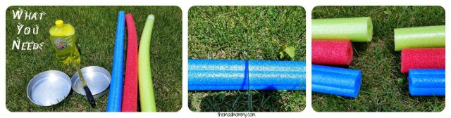 Pool Noodle Bubble Blowers 1