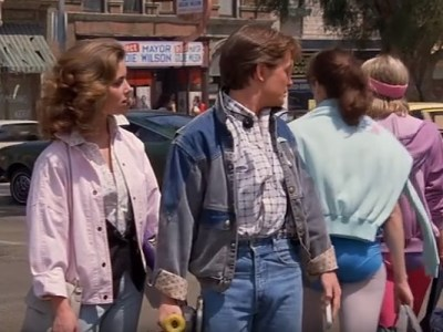 distracted boyfriend x back to the future