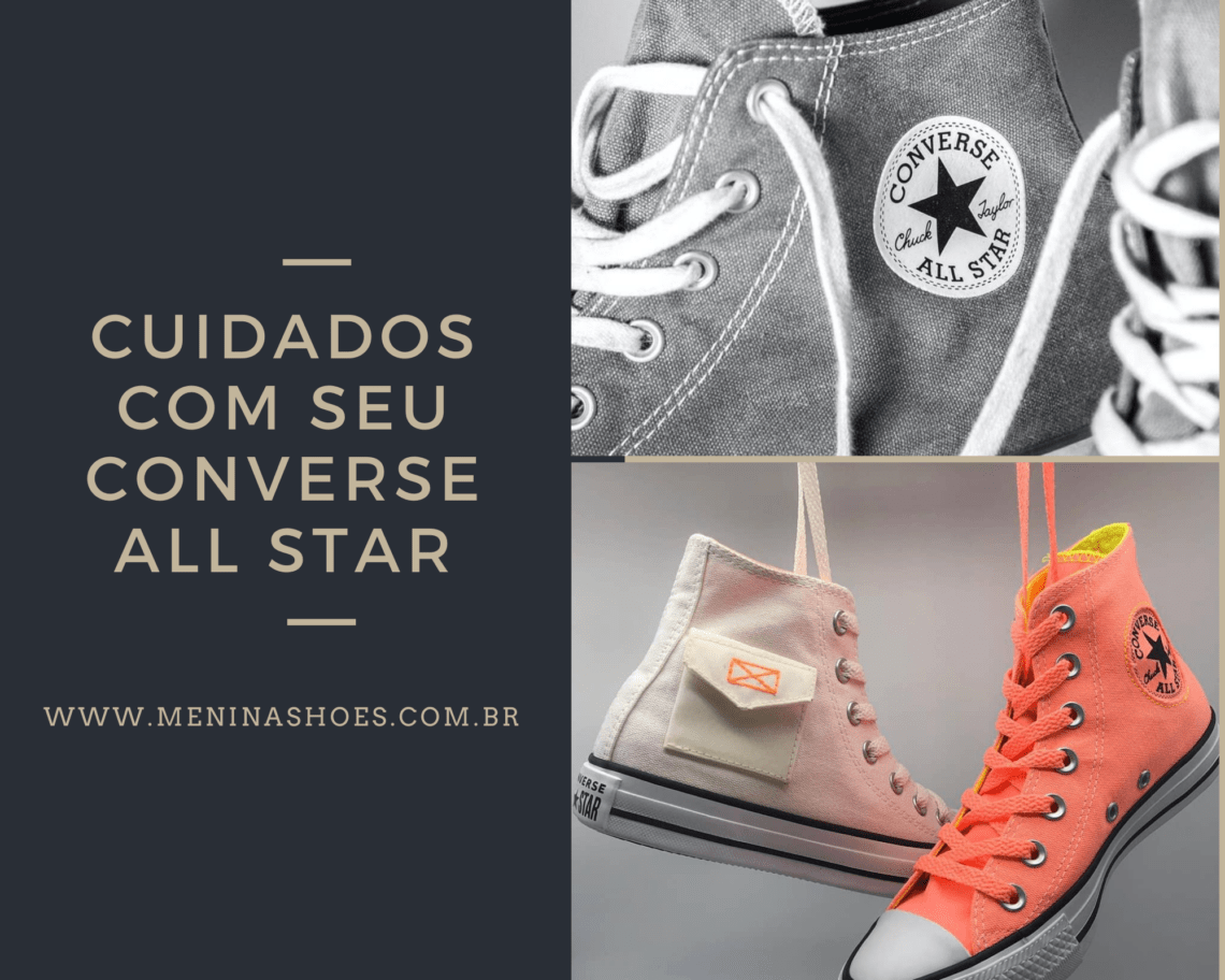 Converse All Star cuidados