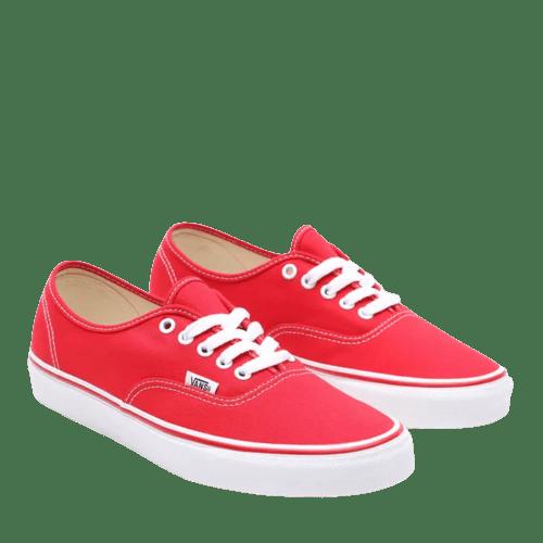 tenis vans vermelho