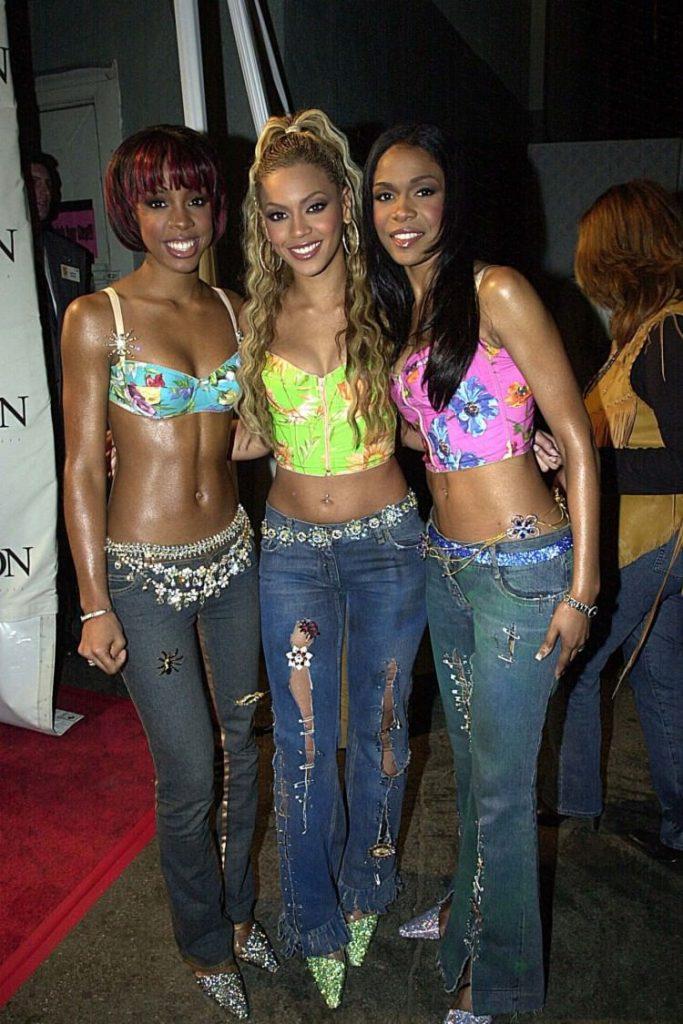 moda anos 2000 calça cintura baixa