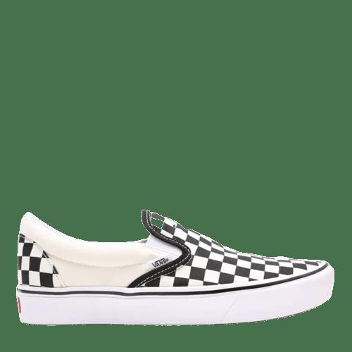 vans slip on comfycush checkerboard