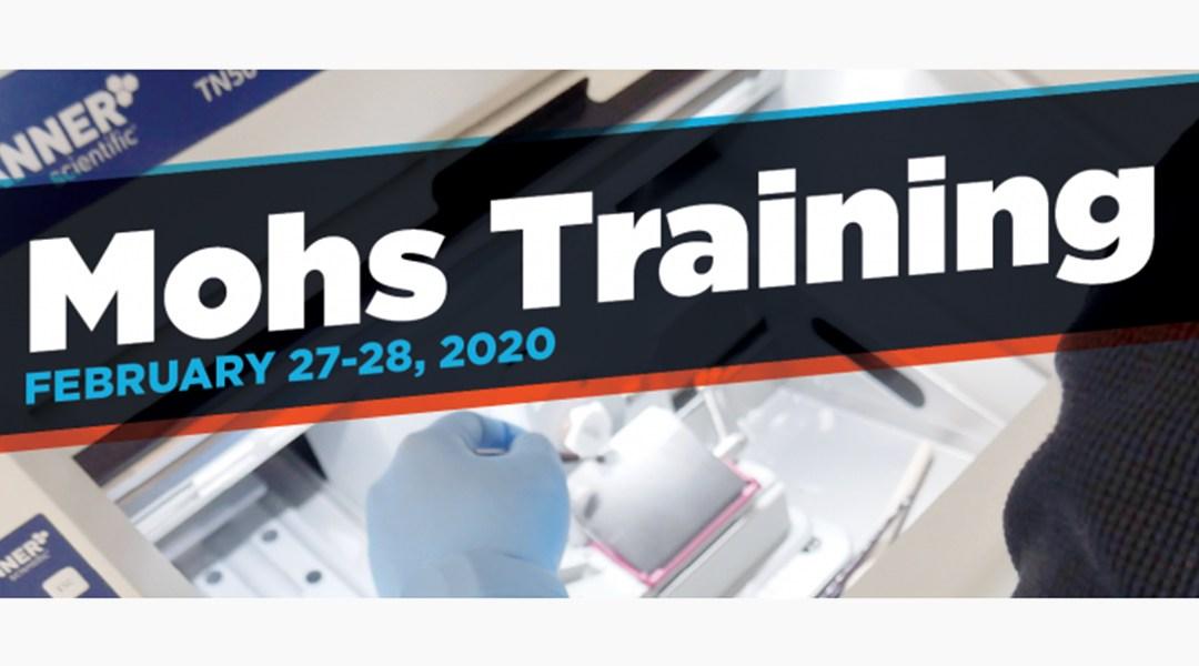 Mohs Training at Mercedes Scientific