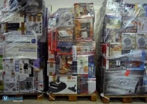job lot pallets of appliances