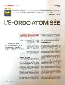 image de l'article dans le pharmacien de france