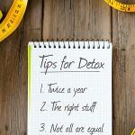 3 Tips for Detox