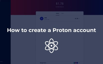 How to create a Proton account or how to convert your Lynx account
