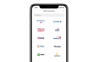 How do I link my bank to Metal Pay through bank login?
