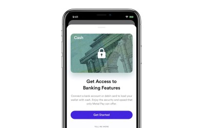 How do I unlock the Cash Card in Metal Pay?