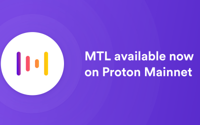 MTL is now live on mainnet!