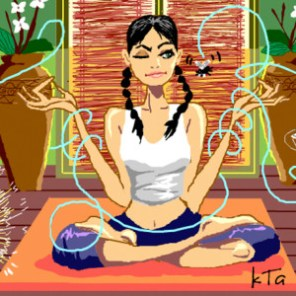 Meditation is not bad for your mind disperses