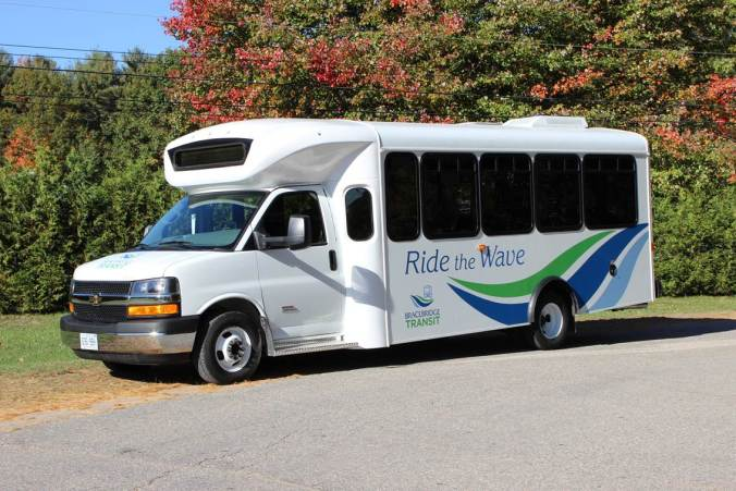 Bracebridge Transit 8m Low Floor Specialized Transit