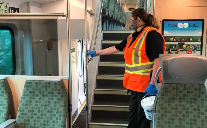 Train cleaning June 2020 #2