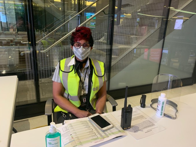 Station attendant at Union